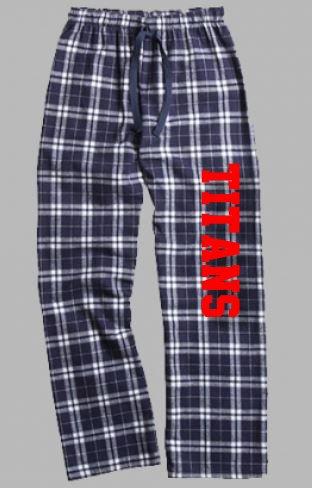 Navy Flannel Pants