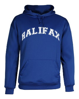 Royal Blue Performance Hoodie