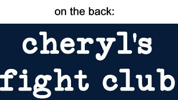 Cheryl's Fight Club - adult and youth