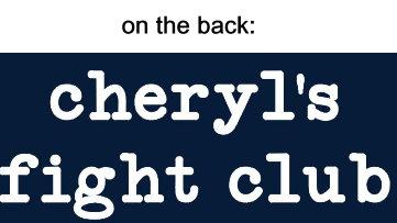 Cheryl's Fight Club - Ladies