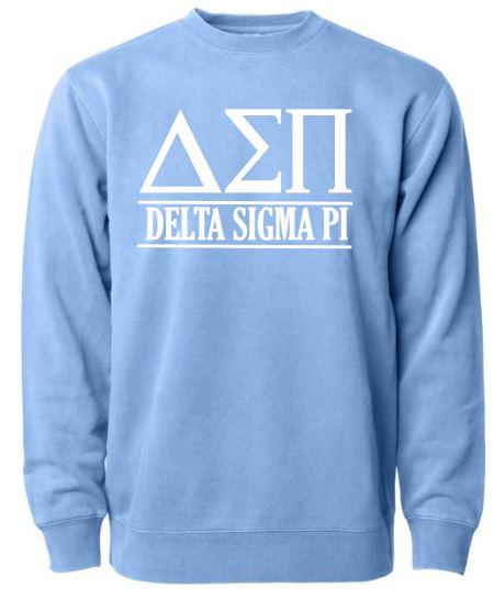 Blue Delta Sigma Pi Crew