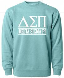 Mint Delta Sigma Pi Crew