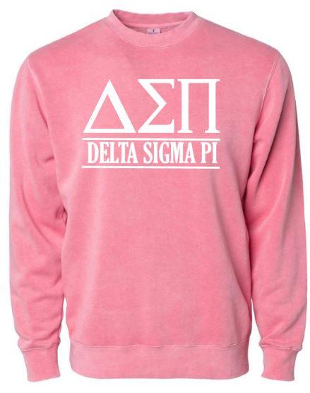 Pink Delta Sigma Pi Crew
