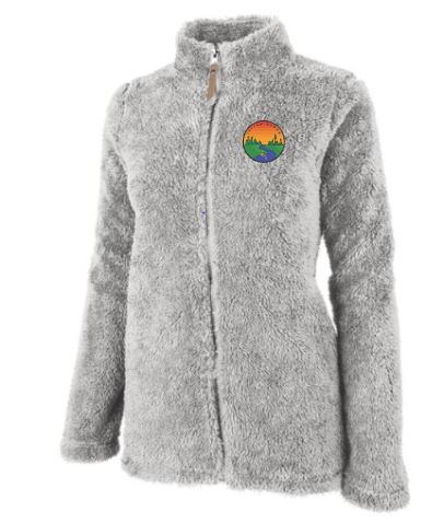 Women's Plush Full-Zip Fleece