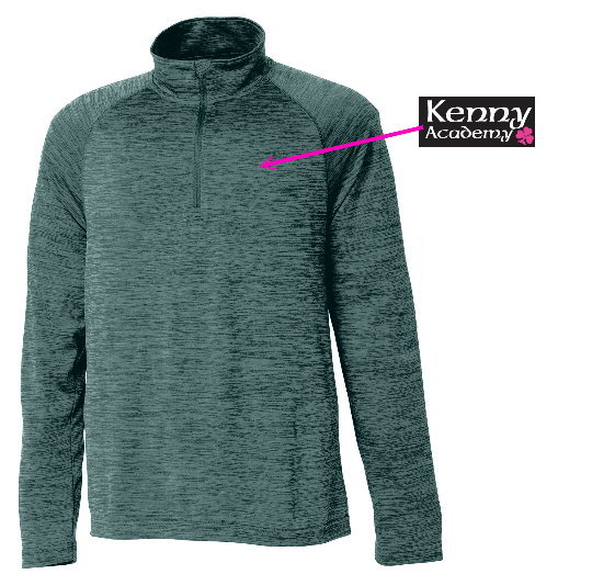 Kenny Academy 1/4 Zip Adult and Youth
