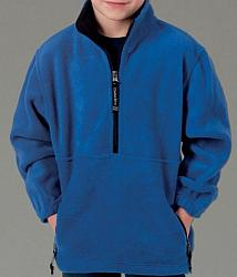 Royal Blue Fleece Pullover
