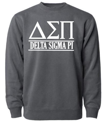 Dk. Charcoal Delta Sigma Pi Crew