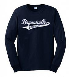 Navy Long Sleeve Bryantville Tee