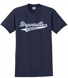 Navy Short Sleeve Bryantville Tee