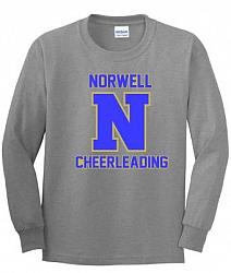 Norwell Cheerleading Long SleeveTee