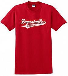 Red Short Sleeve Bryantville Tee
