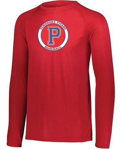 Baseball Long Sleeve Red