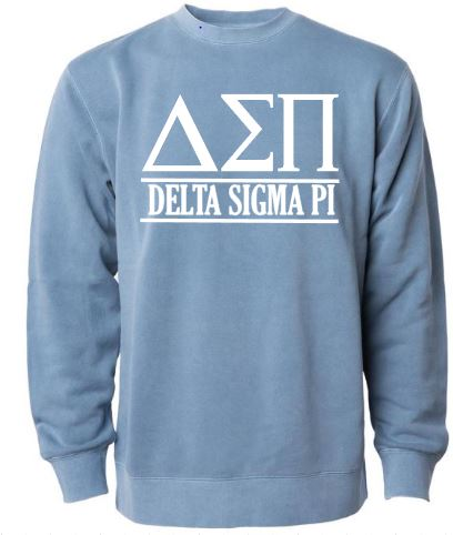 Slate Blue Delta Sigma Pi Crew